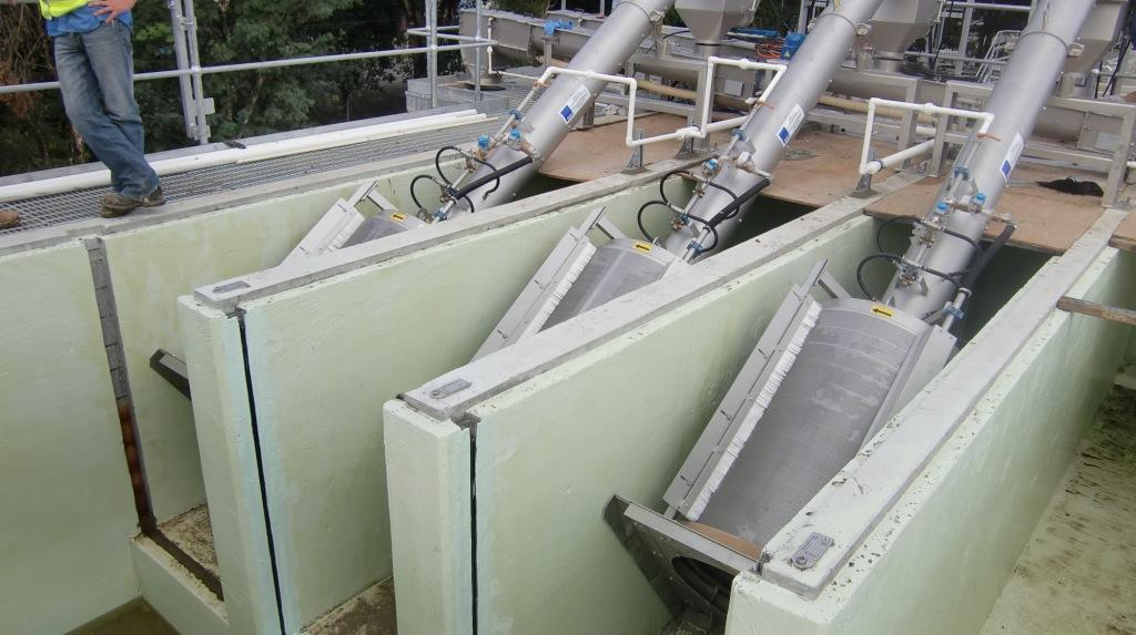 In Channel Rotary Drum Screens Cst Wastewater Solutions